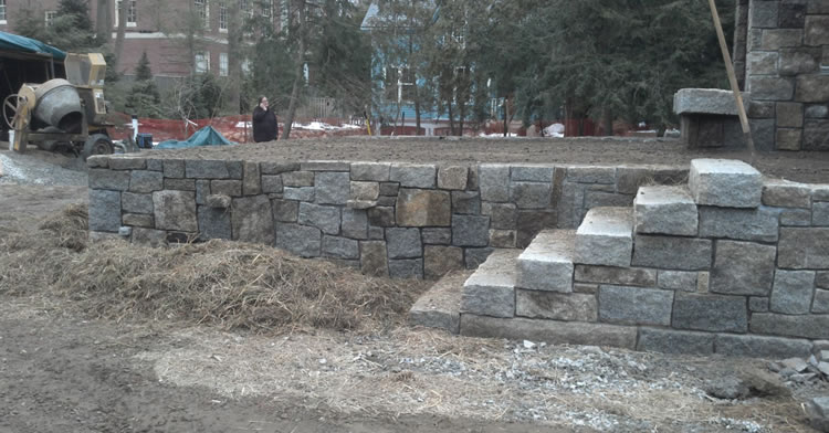 Retaining Wall Construction Middlesex County, MA
