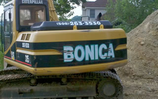 Excavation Services Provided By Bonica Excavation Inc.
