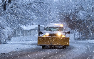 Bonica Excavation Inc Provides Snow Removal and Snow Plowing Services.